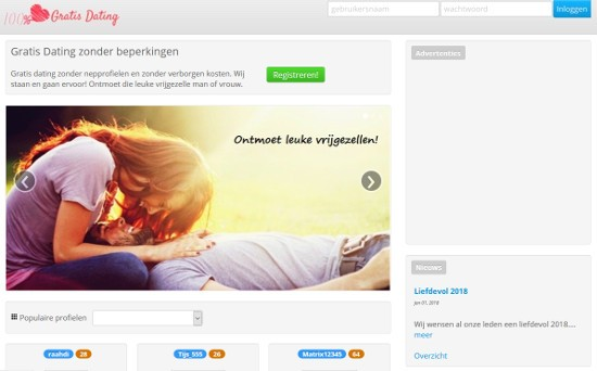 Dating sites populair