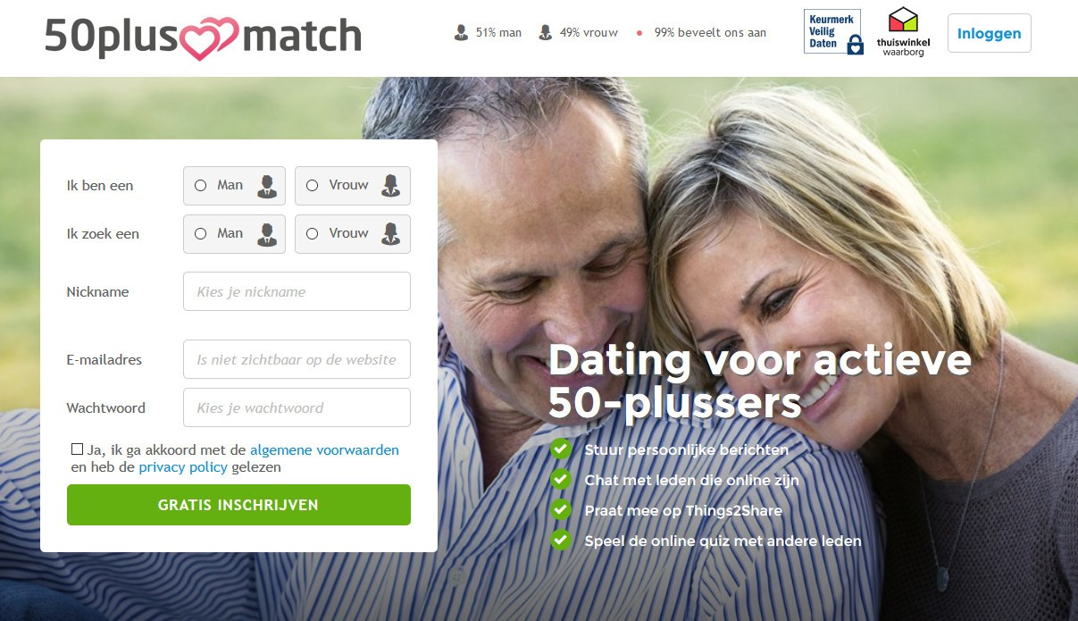 What are the best over-50 dating sites
