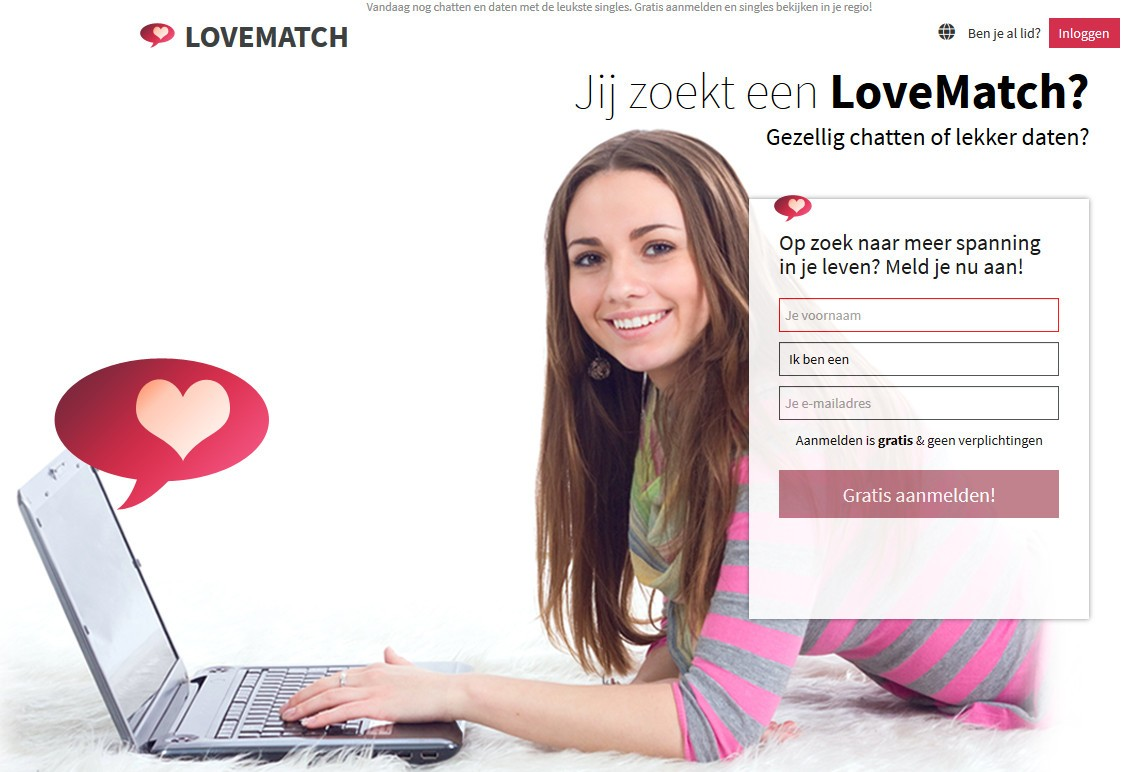 Online dating chat geen registratie